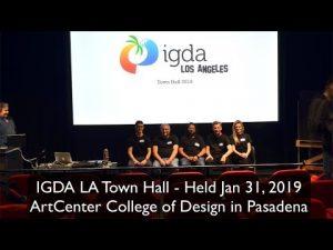 IGDA LA Town Hall 2019