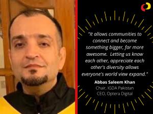 Volunteer Appreciation 2020: Abbas Saleem Khan