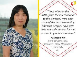 Volunteer Appreciation 2020: Kathleen Yin